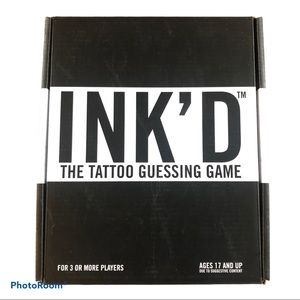 INK'D: The Tattoo Guessing Game NEW,